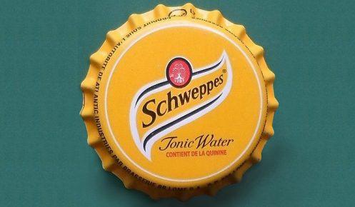 schweppes crown cap